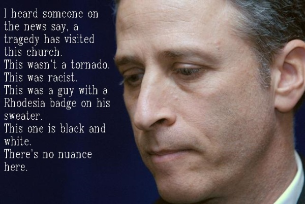 Jon Stewart Serious