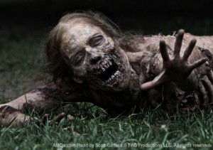 OK yes this picture is from The Walking Dead but you get the idea.